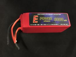 E POWER advance 6000mA6S35/70C LIPO